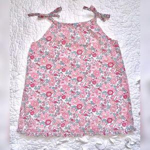Bonpoint | Light Pink Liberty Print Dress